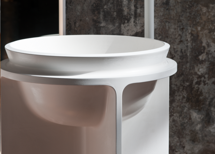 Controstampo Freestanding Basin