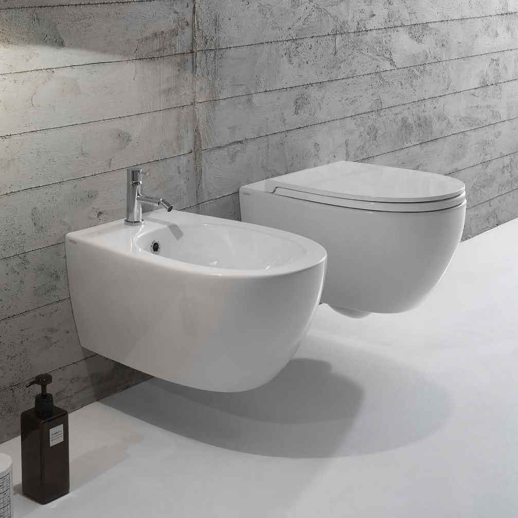 MDS02 4All Wall Hung Toilet