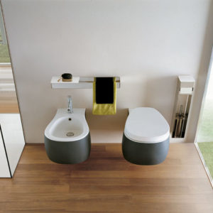 Pear Wall hung Toilet