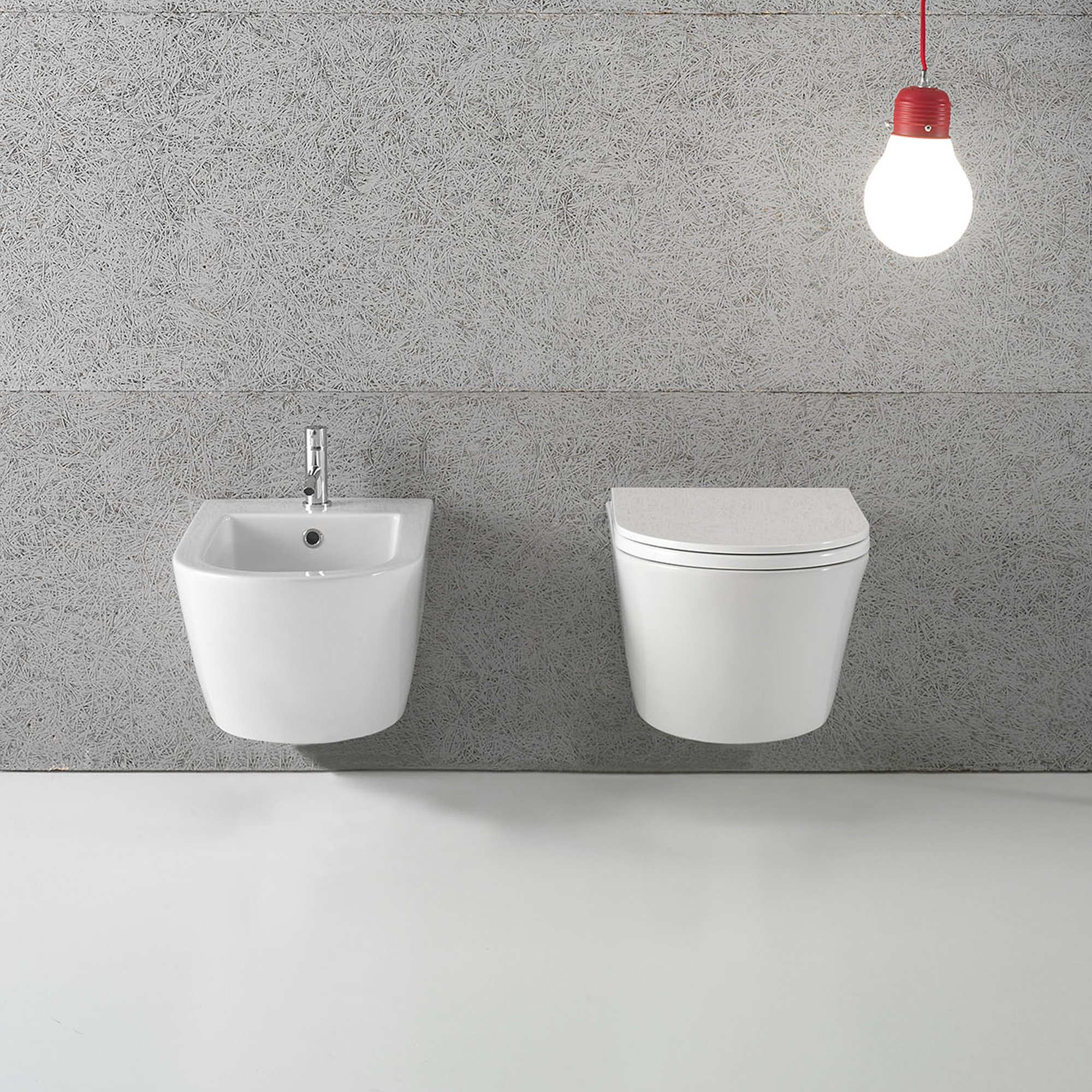 FOS02 Forty3 Wall hung WC