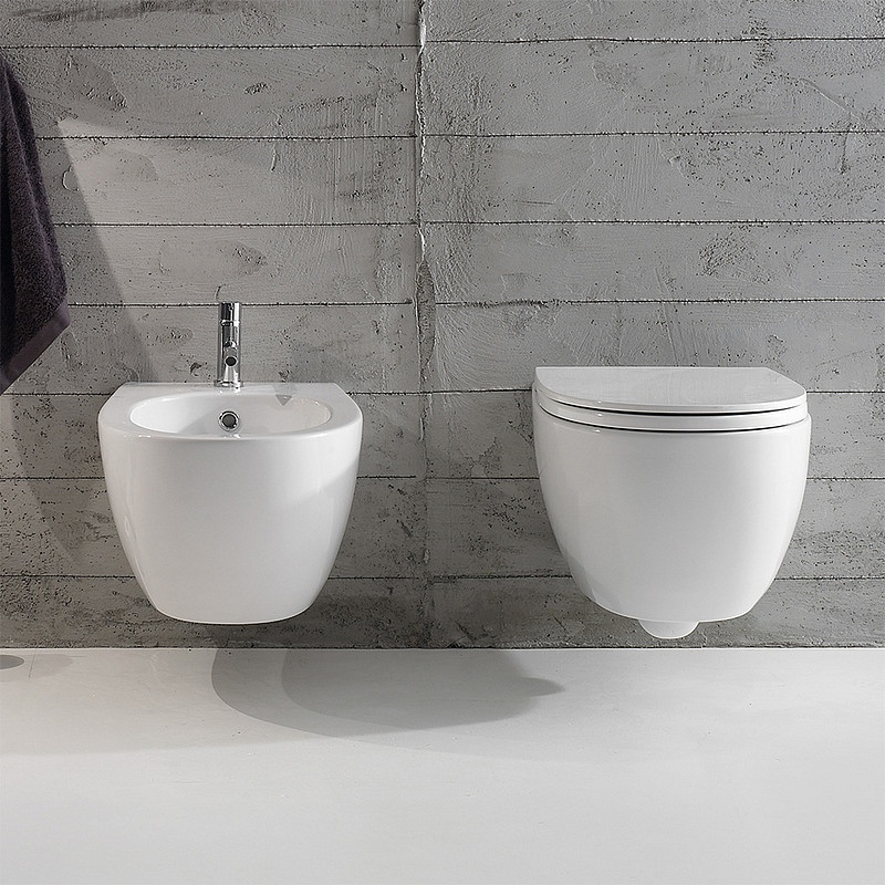 MDS09 4All Wall Hung Bidet