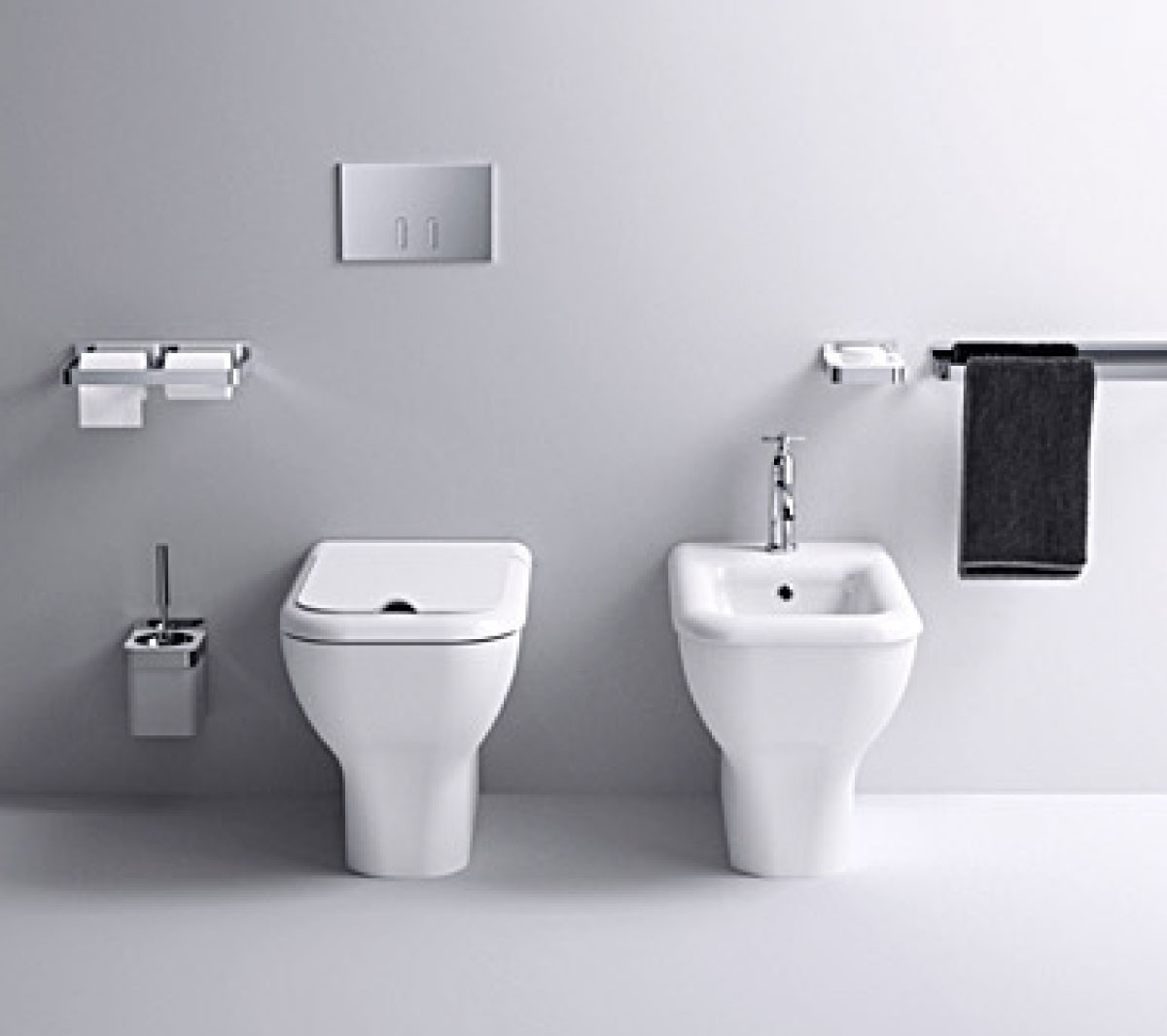 Memory Floor Mount WC