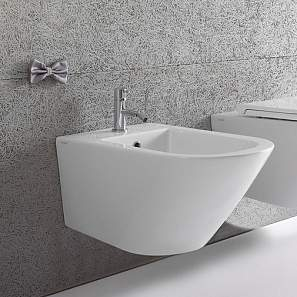 FOS09 Forty3 Wall Hung Bidet