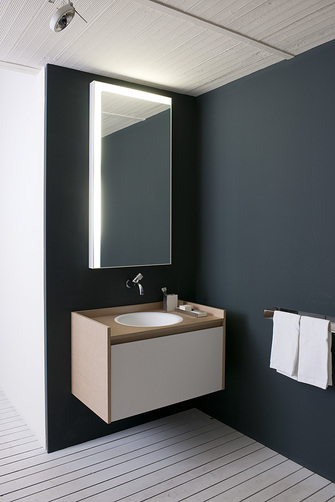 in-out recessed basin