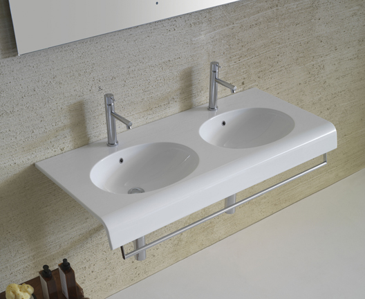 Bowl+ BP110 wall hung basin