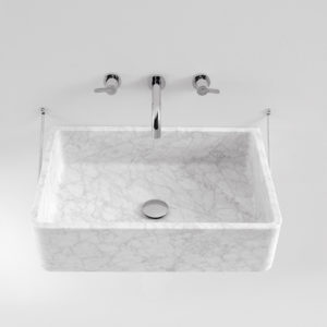 Carrara wall hung basin
