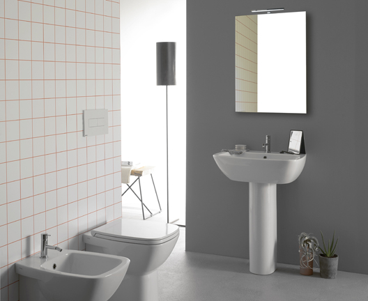 Daily DA065BI Wall Hung Basin