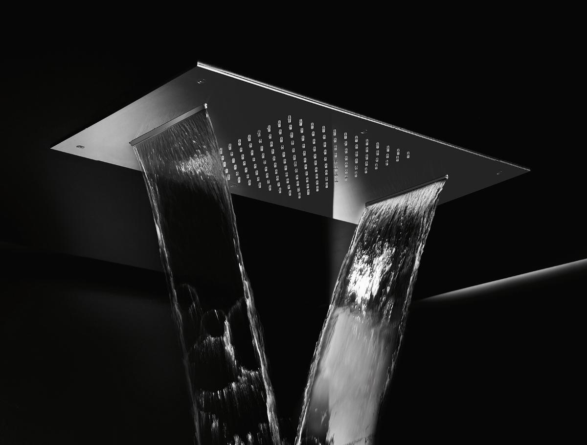 Illuminated Multifunction Shower Head