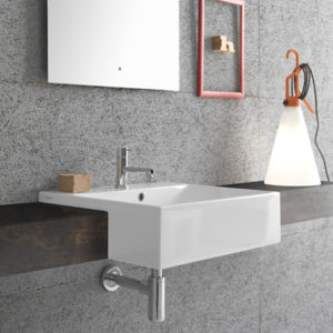 Forty3 Semi recessed FO055 basin