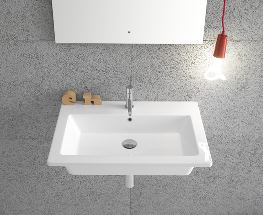 Forty3 FO070 wall hung basin