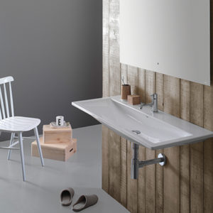 Stockholm LA102 wall hung basin