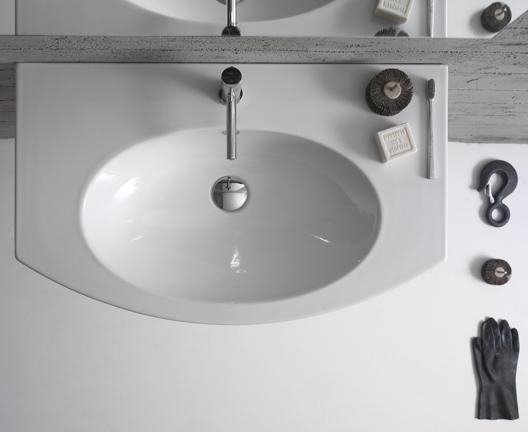4All MD080 wall hung basin