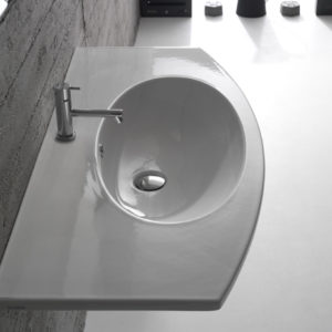4All MD100 wall hung basin