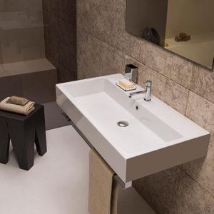 Classic SCQ90 wall hung basin