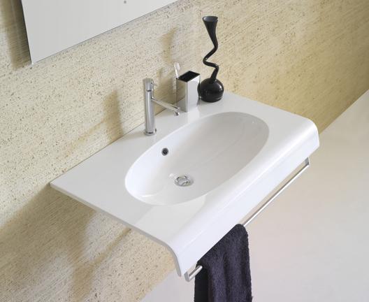 Bowl+ BP080 wall hung basin