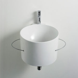 Bucatini wall hung basin