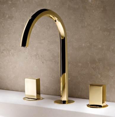 Art. N404S Venezia 3-hole basin mixer