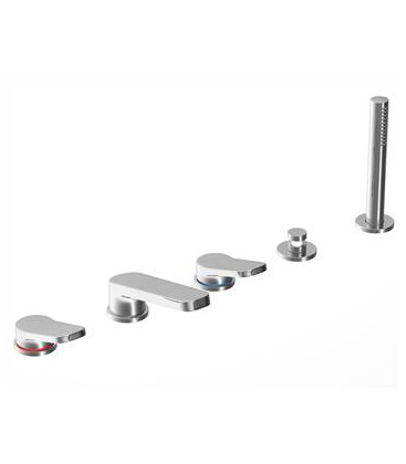 Art. G165 Levante Deck Mount bath set