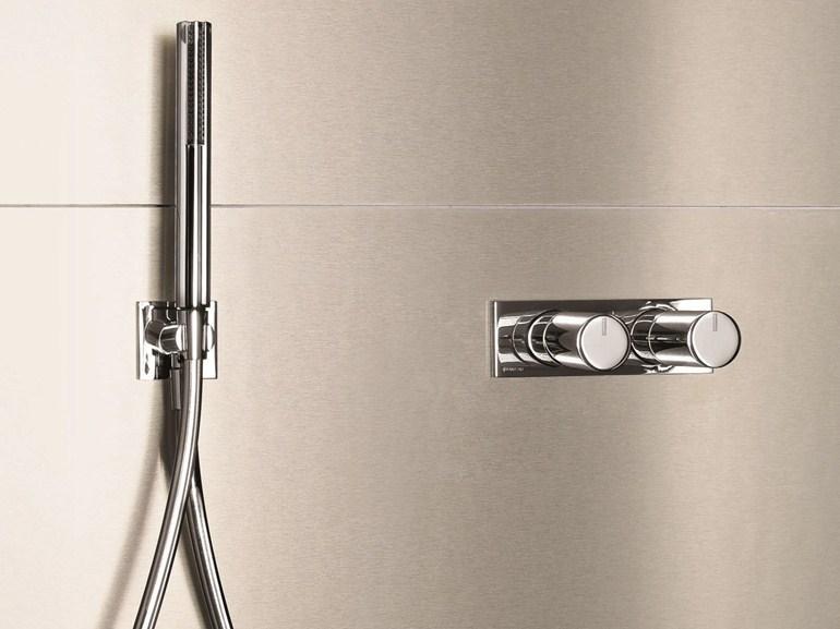 Art. E685B + D185A Milano Shower Diverter Mixer