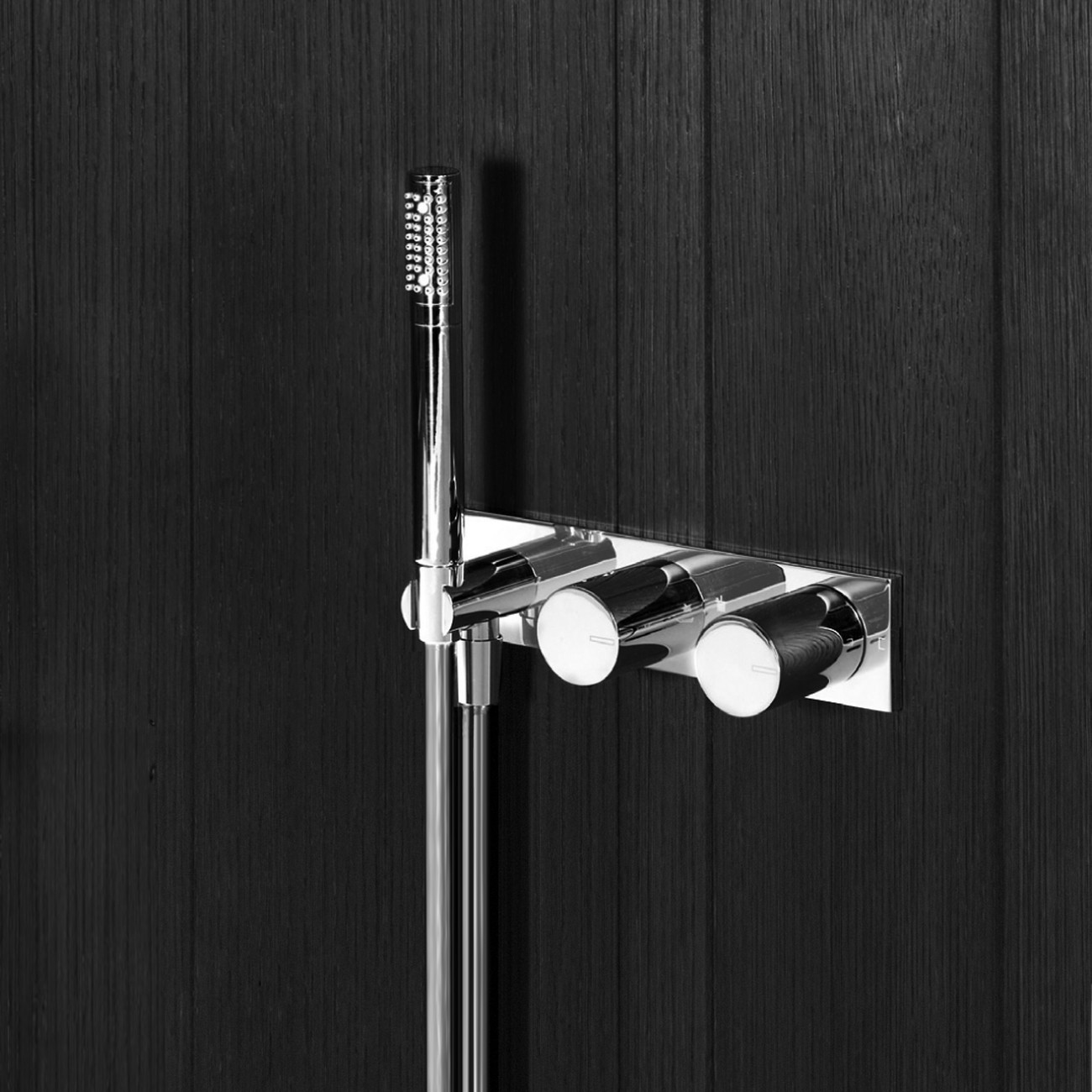 Art 584B + D184A Milano Shower Mixer