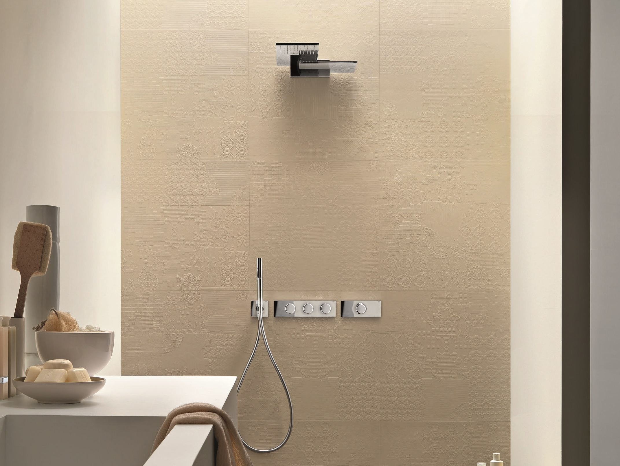 Art. 7313B + D213A Milano Thermostatic Shower Set