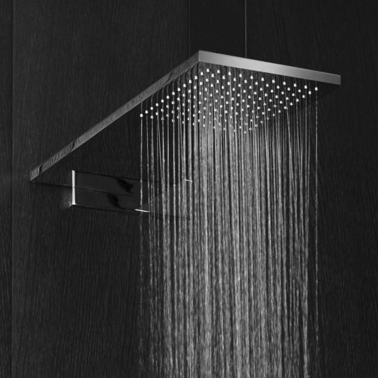 Art. 8036B + 8036A Milano Rain Showerhead