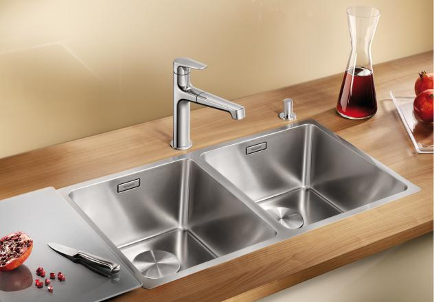 blanco andano 400/400 if double sink
