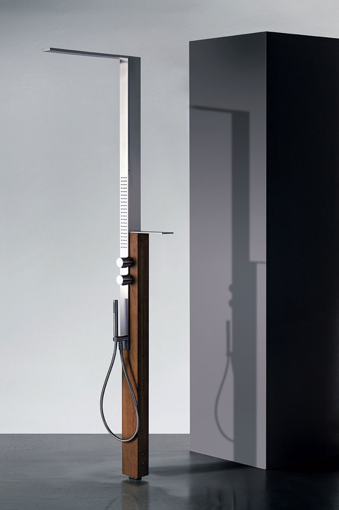 art h121 milanoslim outdoor shower