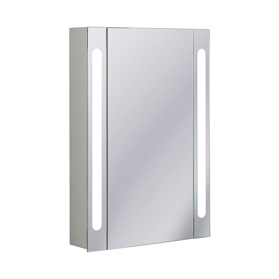 Electric Mirrored Cabinet 550mm