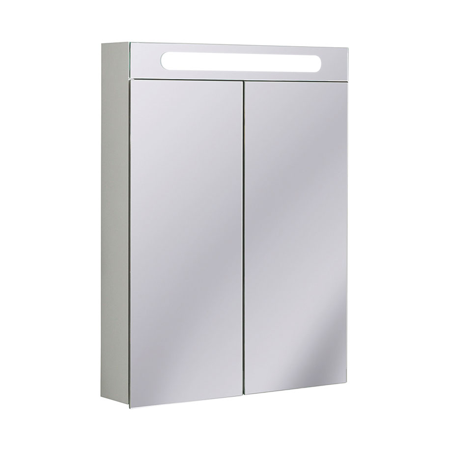 Electric Mirrored Cabinet 600mm