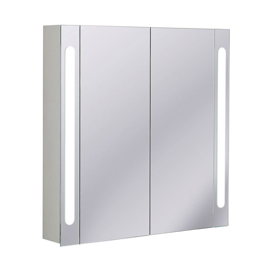 Electric Mirrored Cabinet 800mm