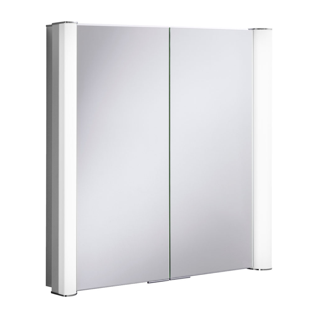 Duo 800mm Illuminated Mirror Cabinet Lavo Bathrooms And Bathroom Accessories In Cape Town