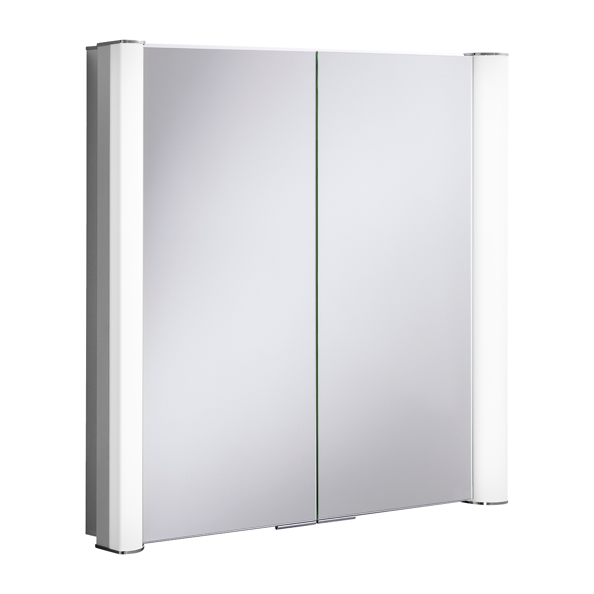 Duo 800mm illuminated mirror cabinet