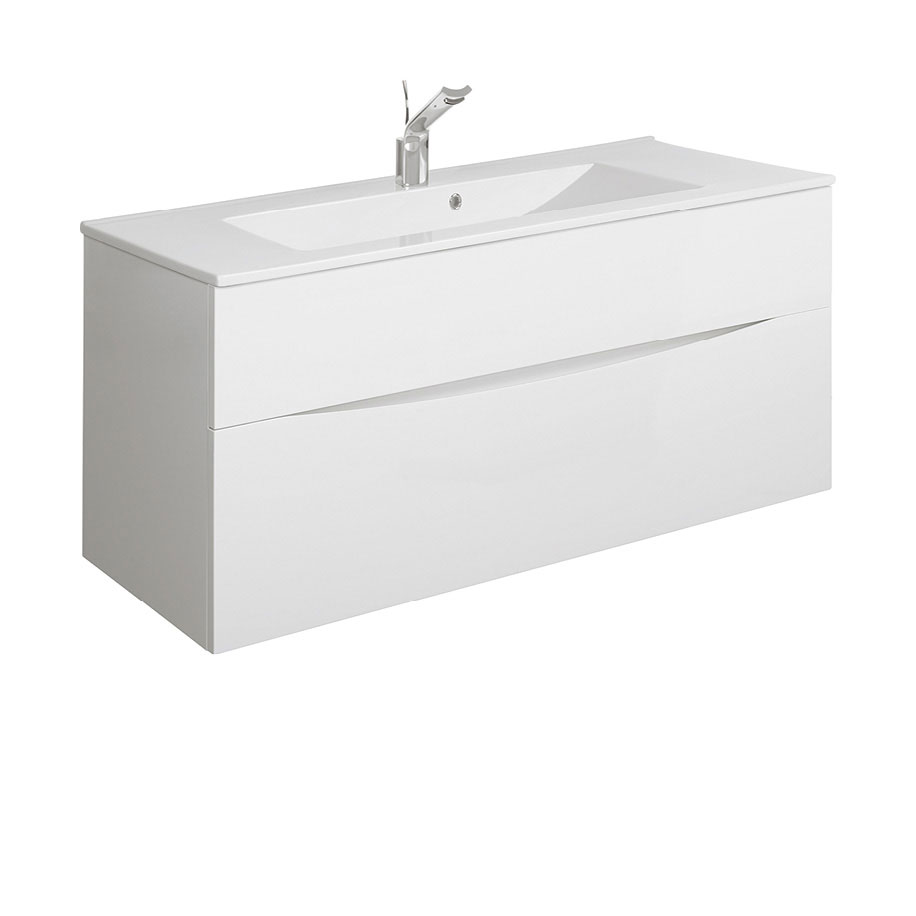 Glide II 1000mm vanity unit