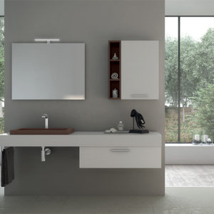 Incantho IN065 semi recessed basin