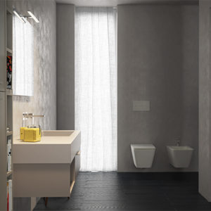 Incantho IN116D wall hung basin