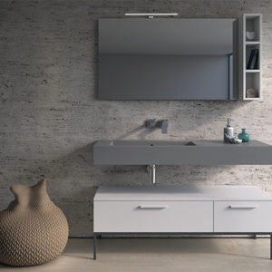 Incantho IN136S wall hung basin