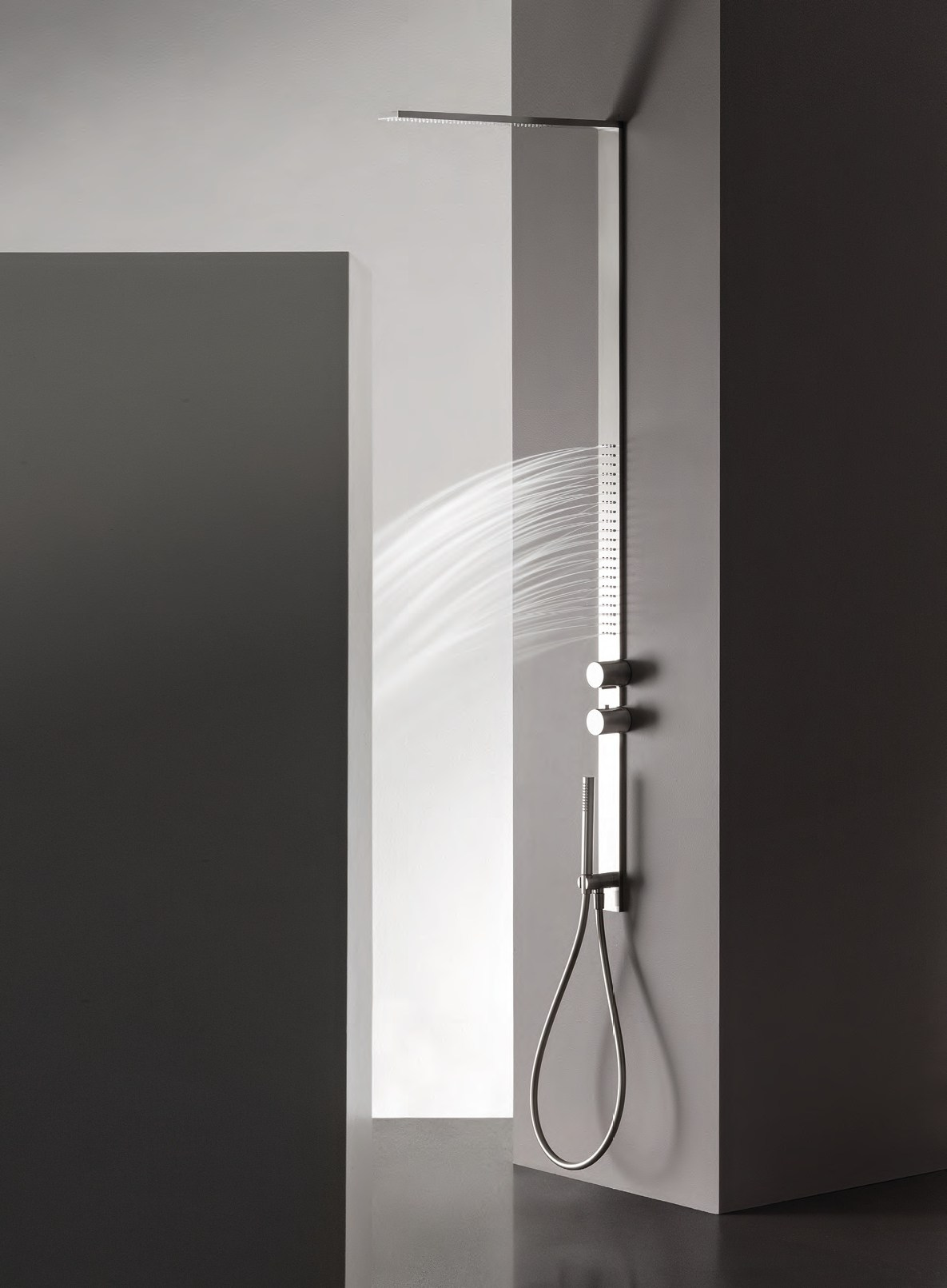 art h001 + h091 milanoslim shower