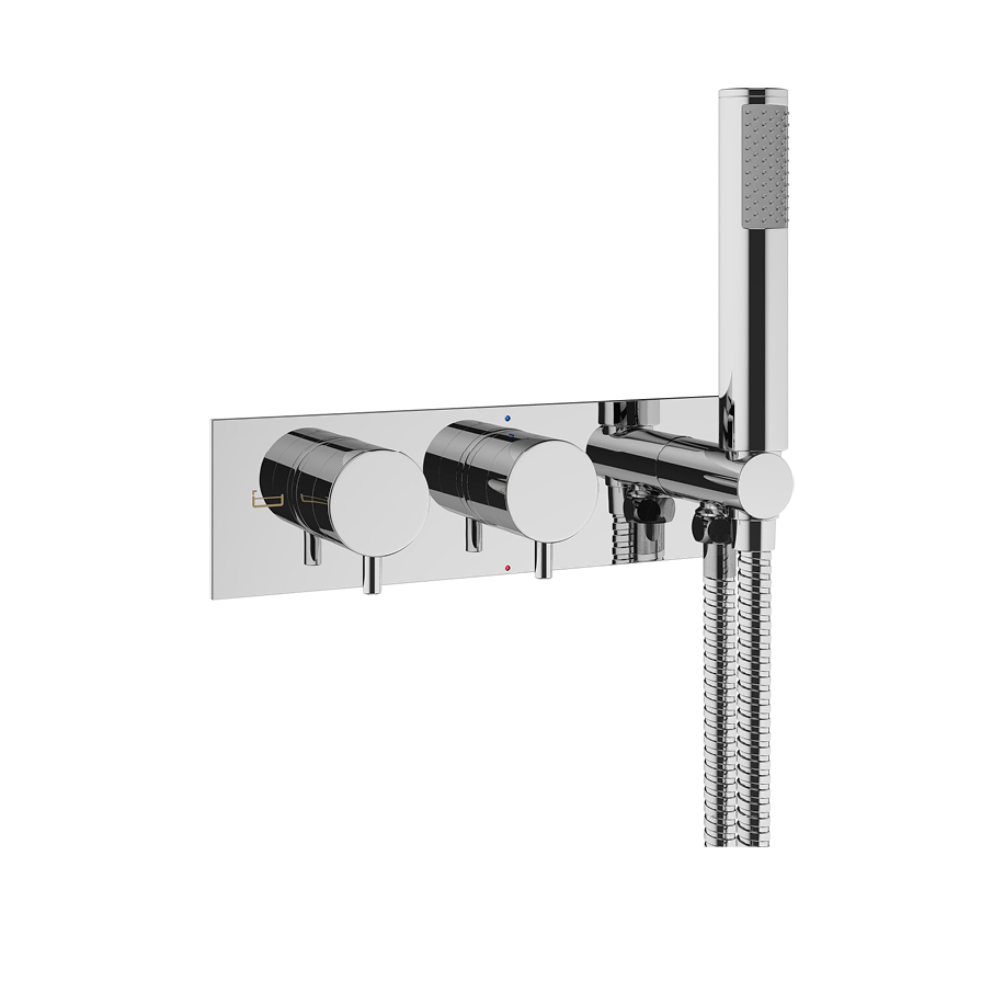 PRO1701RC mike pro thermostatic shower set
