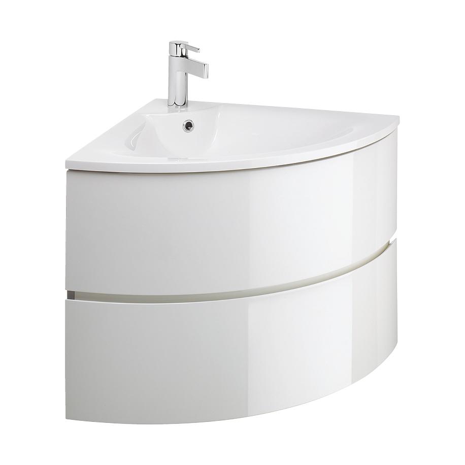 Svelte Corner Vanity unit