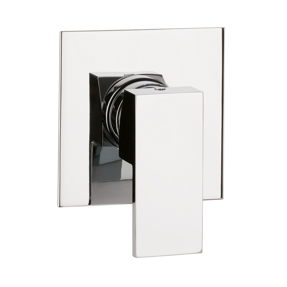 WS0004RC water square shower mixer