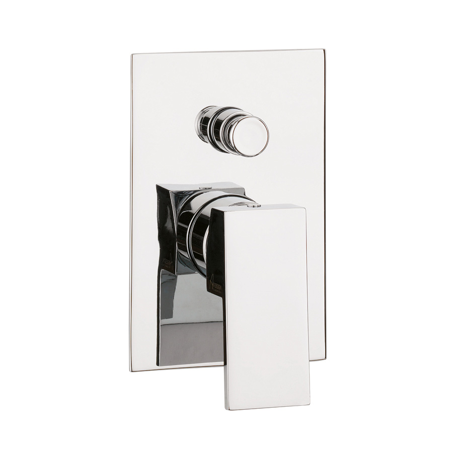 WS0005RC water square diverter mixer
