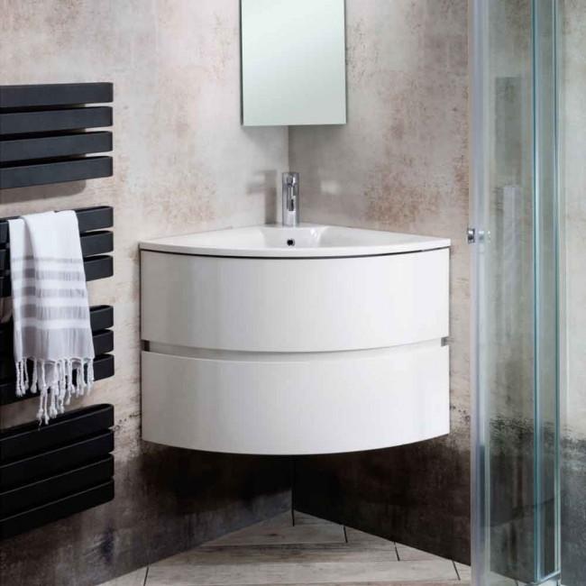 Svelte Corner Vanity Unit Lavo Bathrooms And Bathroom Accessories