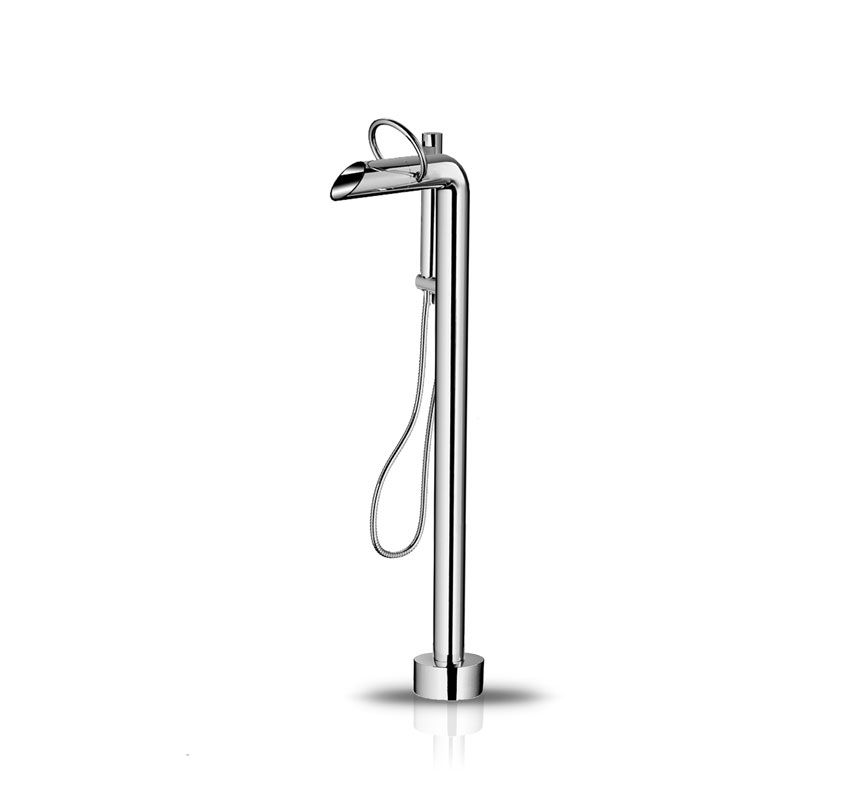 pure freestanding bath filler