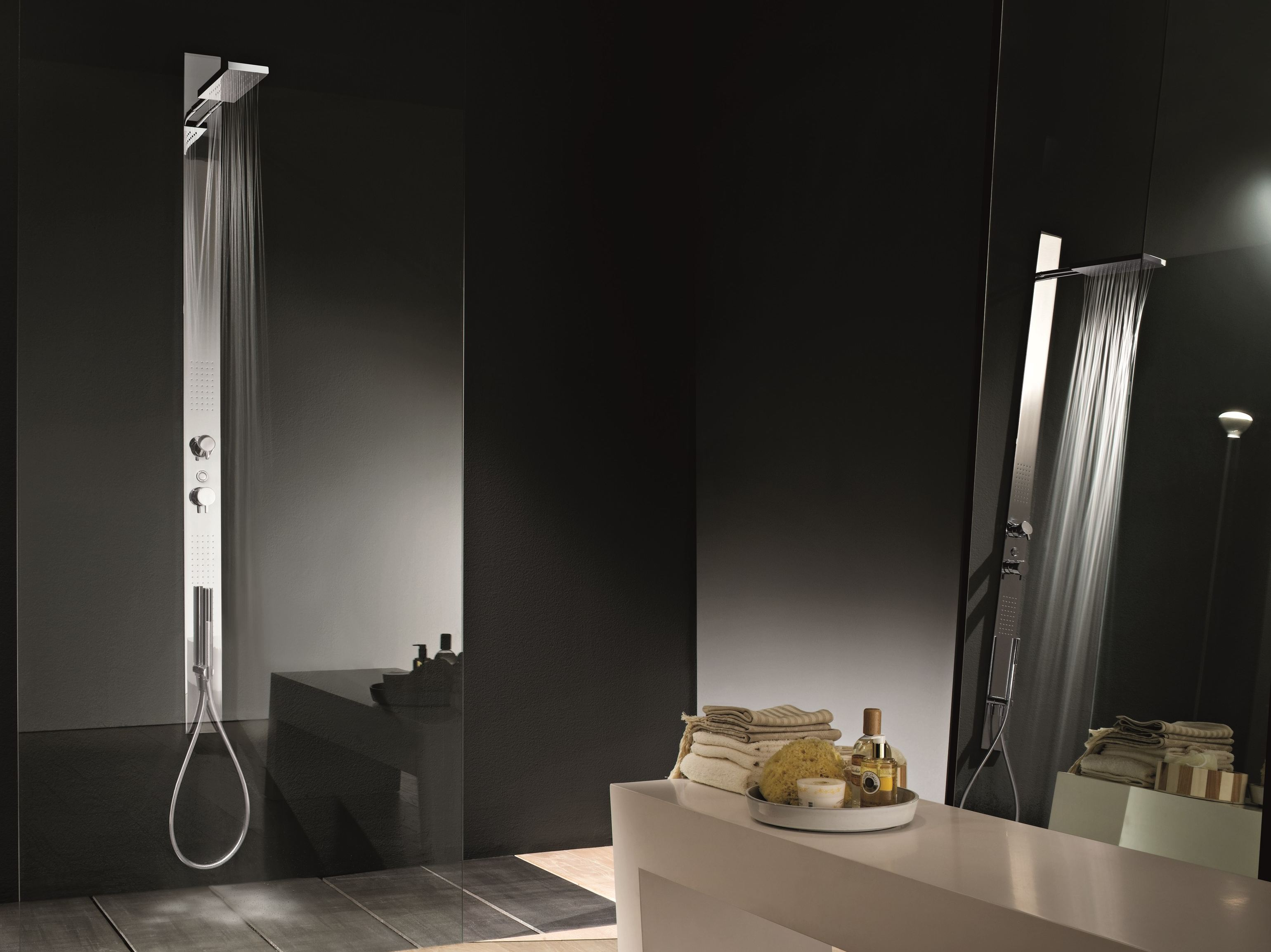 art 6800 + 6890 acquatonica shower