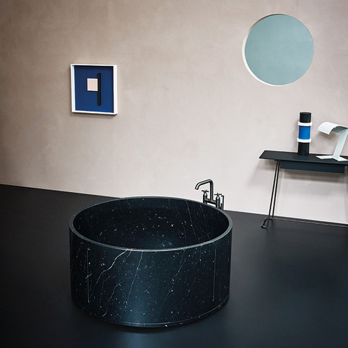 in-out marble freestanding bath
