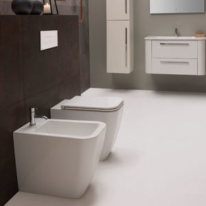 ST001 Stone Floor Mount WC