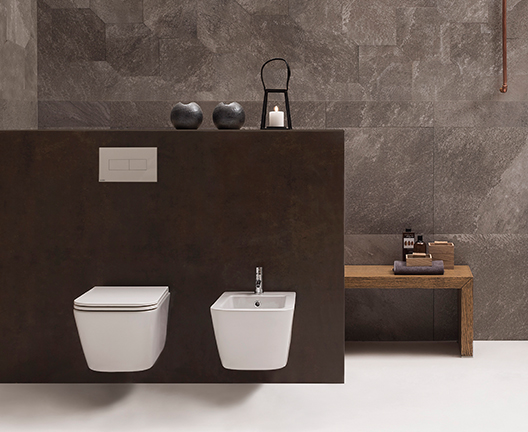 STS03 Stone Wall Hung WC