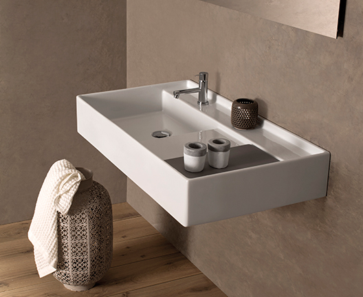 DI091 Wall hung basin