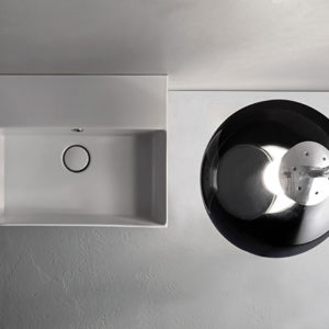 IN046 T-edge wall hung basin
